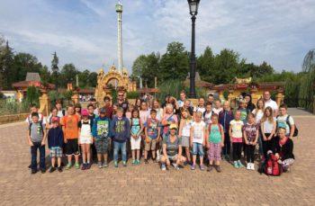 Mit dem Kinder-Kultur-Tagen zu Besuch im Holiday-Park. Foto: nh