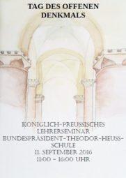 Das Plakat stammt von Ingrid Schajchin, Schülerin der Jahrgangsstufe 13 (Q3).