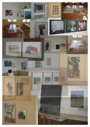 Eine Fotocollage der Ausstellung. Quelle: Willingshausen Touristik Betriebsgesellschaft