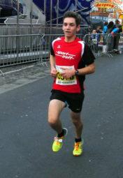 Marvin Knaust belegte den zweiten Platz beim 17. Lollslauf in Bad Hersfeld. Foto: nh