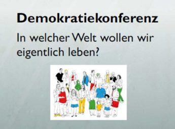 Ausschnitt aus dem Flyer zur Demokratiekonferenz. Quelle: Schwalm-Eder-Kreis