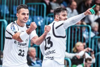 Michael Allendorf (li.) und Nenad Vuckovic. Foto: Alibek Käsler