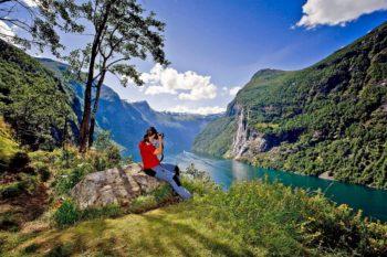 Geiranger in Norwegen. Foto: nh