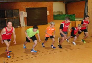 Start zum Vier-Rundenlauf der Schüler. Foto: nh