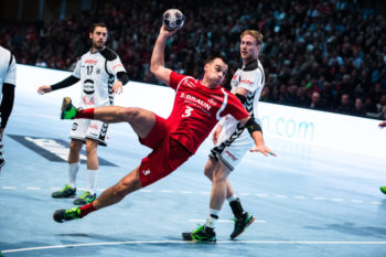 Marino Maric: Der kroatische Nationalspieler in Diensten der MT freut sich schon auf das Spiel in seiner Heimat. Foto: Alibek Käsler