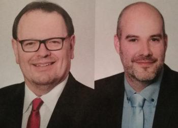 Jürgen Mück und Dr. Christoph Pohl. Foto: nh