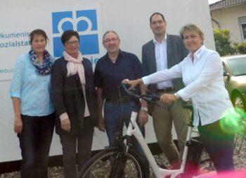 Elke Eigeland, Eszter Facsko Otto, Willi Röder und Andrea Steinmetz (v.l.). Foto: nh