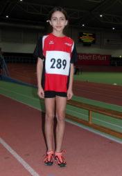 Alessia Oglialoro überraschte im 800-Meter-Lauf der W10 und verbesserte sich um sechs Sekunden. Foto: nh