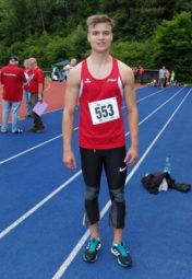 Dennis Horn lief bei seinem letzten Wettkampf für die MT Melsungen 7,22 Sekunden über 60 Meter. Foto: nh