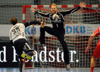 MT-Spieler des Tages war Torwart Johan Sjöstrand. Foto: Hartung