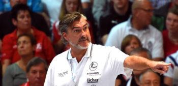 MT-Trainer und Handball-hilft-Botschafter Michael Roth. Foto: Hartung