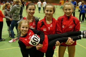 Leonie Harle, Sophia Apel, Lena Hehr und Lenka Müller (v.l.). Foto: nh