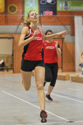 Katharina Wagner verbesserte sich über 60 Meter auf 8,10 Sekunden. Foto: nh