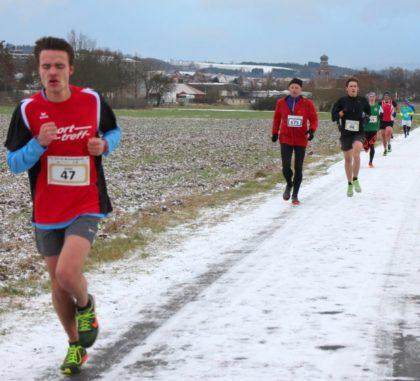 Mittelstreckenläufer Christan Schulz, der über fünf Kilometer Rang zwei bei den Männern belegte. Foto: nh
