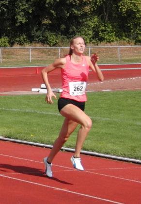 Katharina Wagner, die sich in dieser Hallensaison im 60m-Lauf um 0,2 Sekunden verbesserte, strebt in Frankfurt den Zwischenlauf an. Foto: nh