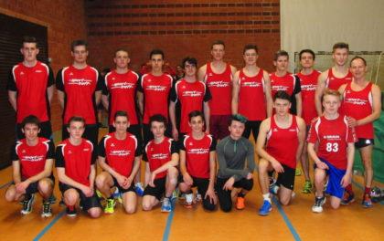 19 Sprinter aus Melsungen stellten sich bei den Kreishallenmeisterschaften dem Starter. Foto: nh