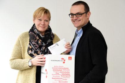 Elke Volkmann und Oliver Dietzel. Foto: Martin Sehmisch