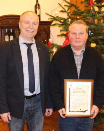 Klaus Mai und Klaus Hollstein (v.l.). Foto: nh