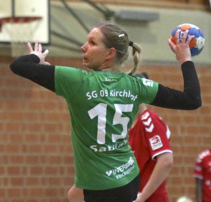 Die Binsförtherin Diana Sabljak spielt ein weiteres Jahr für Kirchhof. Foto: SG 09 Kirchhof