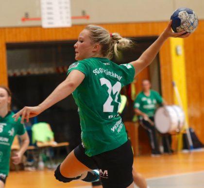 Die 21-jährige Linksaußen der SG 09 Kirchhof Lisa-Marie Berz geht im Sommer nach Schweden. Foto: SG 09 Kirchhof