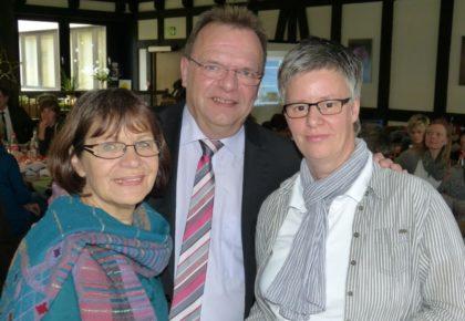 Elke Junger, Winfried Becker und Christiane Krause. Foto: nh