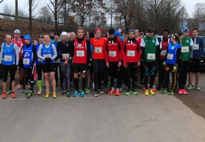 Start zum 5km-Lauf bei der Winterlaufserie in Breitenbach. Foto: nh