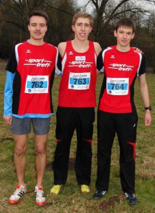 Christian Schulz, Lorenz Funck und Moritz Knaust sicherten sich nicht nur die Teamwertung, sondern überzeugten vor allem durch läuferische Klasse. Foto: nh