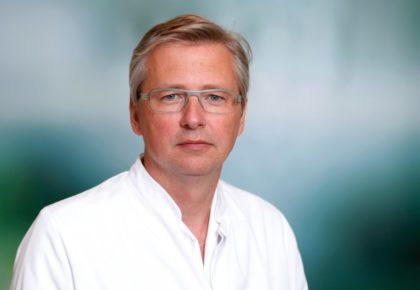 Dr. Karol Stiebler, Chefarzt Klinik für Unfallchirurgie und Orthopädie. Foto: Klein