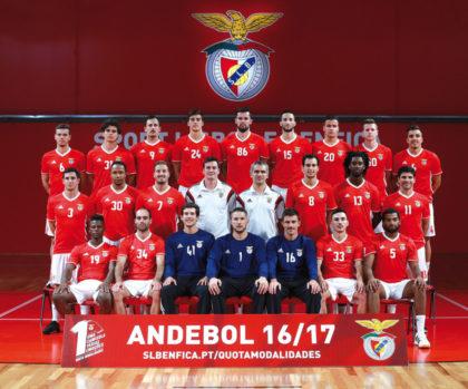 Benfica Lissabon ist der Gegener der MT Melsungen im morgigen Europapokalspiel in Kassel. Foto: nh