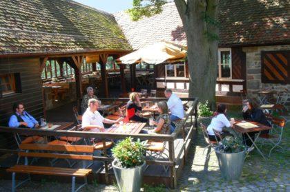 Blick auf die Burgbergstube in Homberg. Foto: Stadt Homberg