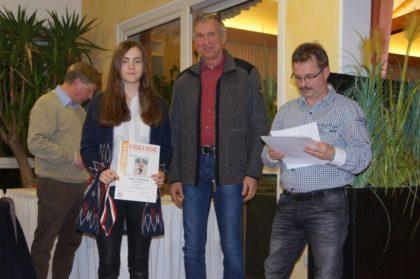 Auszeichnung für Imke Hofmann. Foto: nh