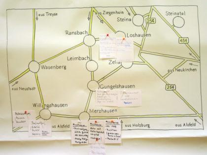 Ortsteilkarte mit Ergebnissen. Foto: nh