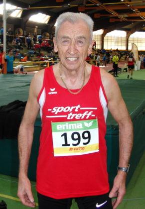Harry Geier (MT Melsungen) peilt bei den deutschen Senioren-Hallenmeisterschaften in Erfurt zwei Titel an. Foto: nh