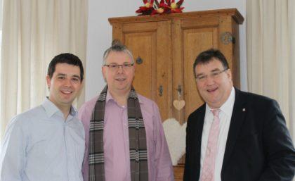 Matthias Wettlaufer, Heinrich Ploch und Mark Weinmeister (v.l.). Foto: nh