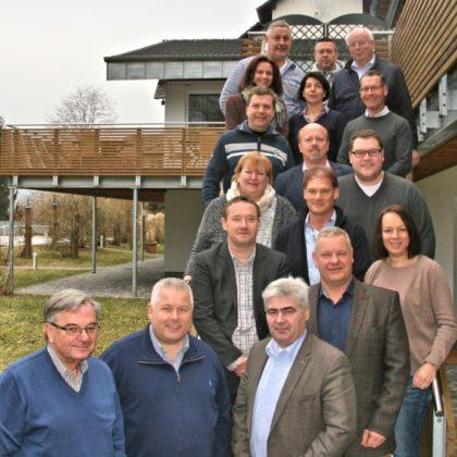 Die Teilnehmer der CDU-Klausurtagung mit Bürgermeister Stefan Pinhard. Foto: nh