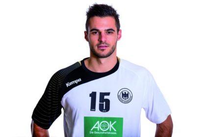 Michael Allendorf im DHB-Dress. Foto: DHB/Sascha Klahn