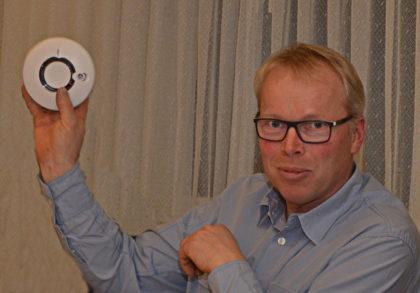 Hans-Werner Hocke (stellvertretender Vorsitzender FFW Mosheim). Foto: Reinhold Hocke