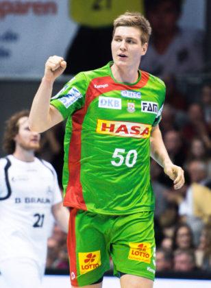 Finn Lemke, der kommende Saison zur MT wechselt. Foto: Alibek Käsler
