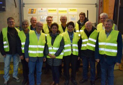 Besuch bei der CTL Cargo Trans Logistik AG. Foto: nh
