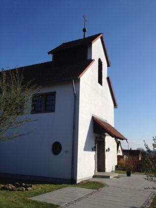 Die Evangelische Kirche in Trutzhain. Foto: Anke Breidenbach
