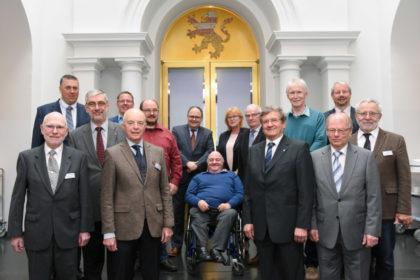 Die Mitglieder des neuen LWV-Verwaltungsausschusses. Foto: Uwe Zucchi