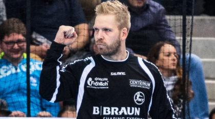 Torwart Johan Sjöstrand war erfolgreichster MT-Spieler in Lissabon. Archivfoto: Alibek Käsler