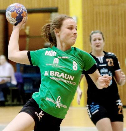 Laura Nolte will mit Kirchhof Tabellenplatz zwei halten. Foto: SG 09 Kirchhof