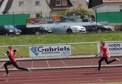 Niclas Dittmar triumphierte über 75 Meter der M11. Foto: nh