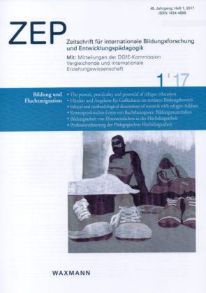 Titelbild der Zeitschrift: Die Abbildung zeigt die Arbeit von Jana Keim. Quelle: nh