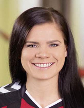 """Karolina Bijan hat einen Einjahresvertrag mit Option auf """"Mehr"""" bei der SG 09 unterschrieben. Foto: SG 09 Kirchhof"""