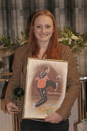 Spielerin des Jahres: Paula Küllmer, w Jugend A (Oberliga Hessen) Juniorteam (Landesliga Nord) und Kirchhof I (Liga Drei). Foto: SG 09 Kirchhof/Carina Kühlborn