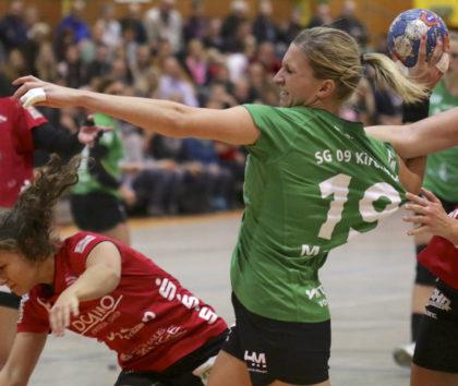 Sharelle Maarse, eine sehr beliebte Spielerin bei der Sportgemeinschaft verabschiedet sich beim großen Saisonfinale am 30. April. Drei Jahre jat die Niederländerin das Kirchhof-Trikot getragen. Foto: SG 09 Kirchhof
