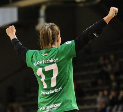 """Kirchhofs Simone Larsen Poulsen beendet ihre Karriere. """"Sie wird uns sehr fehlen"""", sagt Renate Denk. Foto: Detlev Keller"""