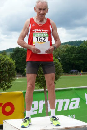 Dreifacher hessischer Seniorenmeister: Harry Geier. Foto: nh